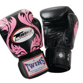Twins FLOURISH FANTASY GLOVES zwart roze