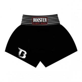 TBT PLAIN BLACK Booster Thaibox Trunk