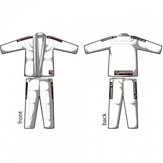 Booster BJJ PRO LIGHT WHITE