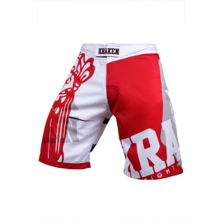 Kraken Wear MMA Broek sfx series the m4sk wit
