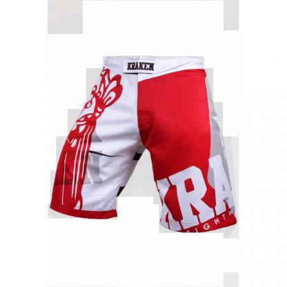 Kraken Wear MMA Broek sfx series the m4sk wit