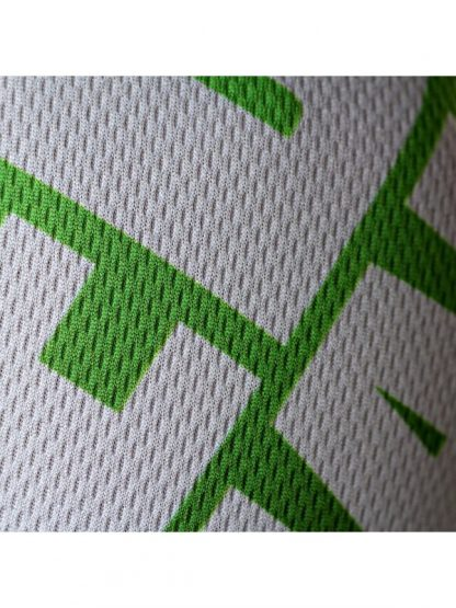 Xpert Dry Mix Green MMA shirt detail