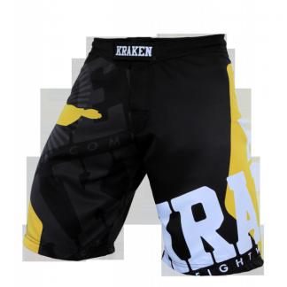 KRAKEN WEAR SFX WANNAGETFREE Zwart MMA Broek